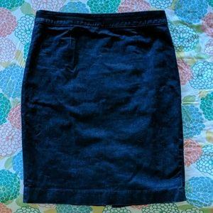 Boden modern pencil skirt, denim size 8 US